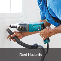 Dust hazards