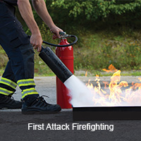 First attack firefighting