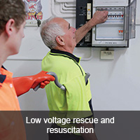 Low voltage rescue & resuscitation